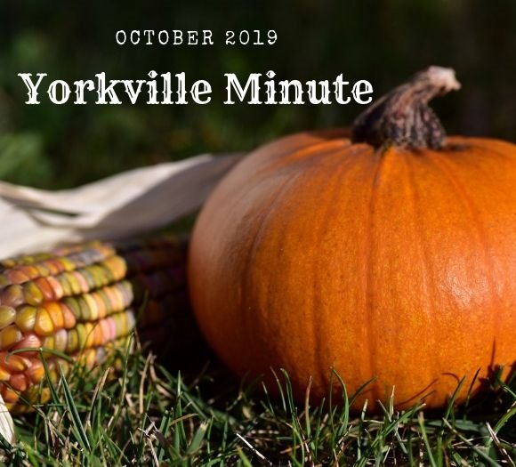 Yorkville Minute October 1, 2019 Edition