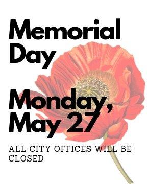 Memorial Day Office Closure