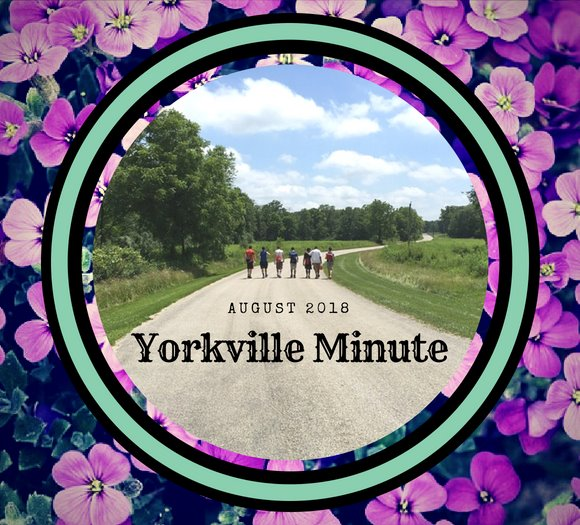 Yorkville Minute - August 1, 2018 edition