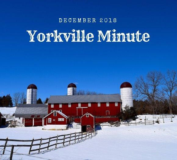 Yorkville Minute December 3, 2018