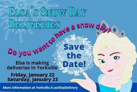 Elsa's Snow Day Deliveries