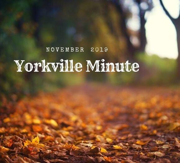 November 1, 2019 Yorkville Minute