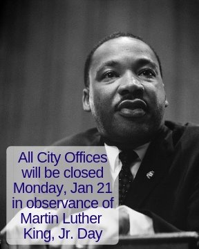 Martin Luther King Jr. Day January 21, 2019