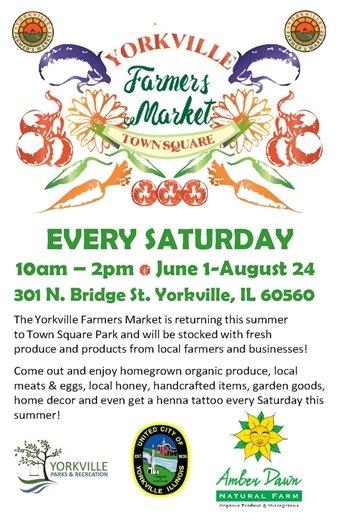 Farmer's Market Every Saturday