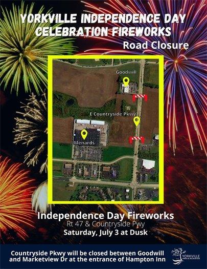 Independence Day Celebration July 3rd