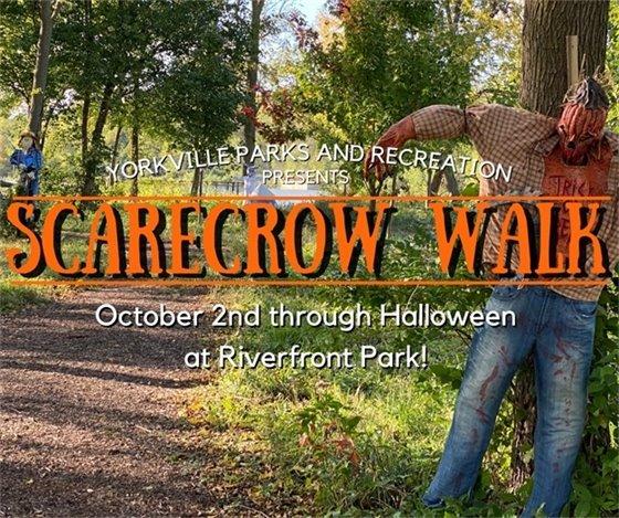 Scarecrow Walk at Riverfront Park