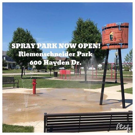 Riemenschneider Spray Park - Now Open!