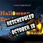 Halloween Egg Hunt Rescheduled October 18th at 7:00 PM