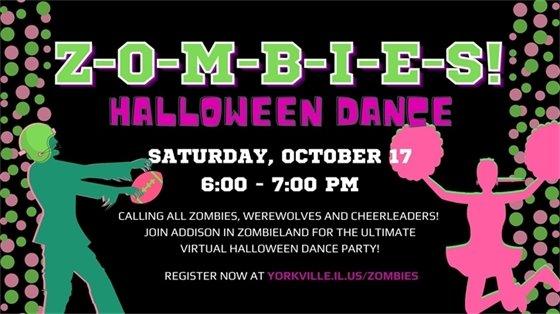 Zombies Halloween Dance