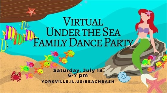 Virtual Under the Sea Family Dance Party