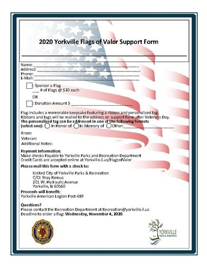 Flags of Valor Support Form