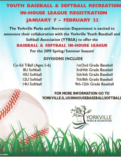 Baseball and Softball Registration