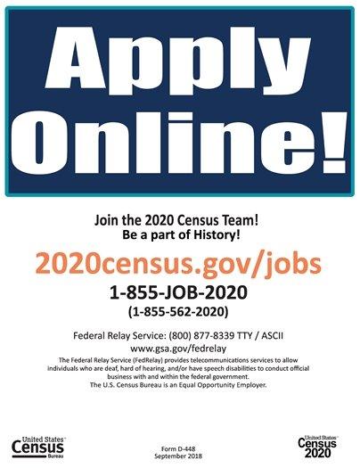 Census Bureau is Hiring!