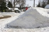 Safety Information About Snow Piles