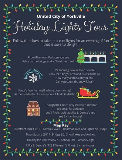 Yorkville Holiday Lights Tour