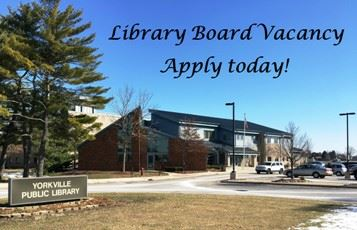 Library board vacancy website