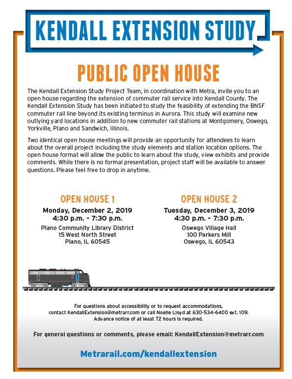 Metra Extension Open House