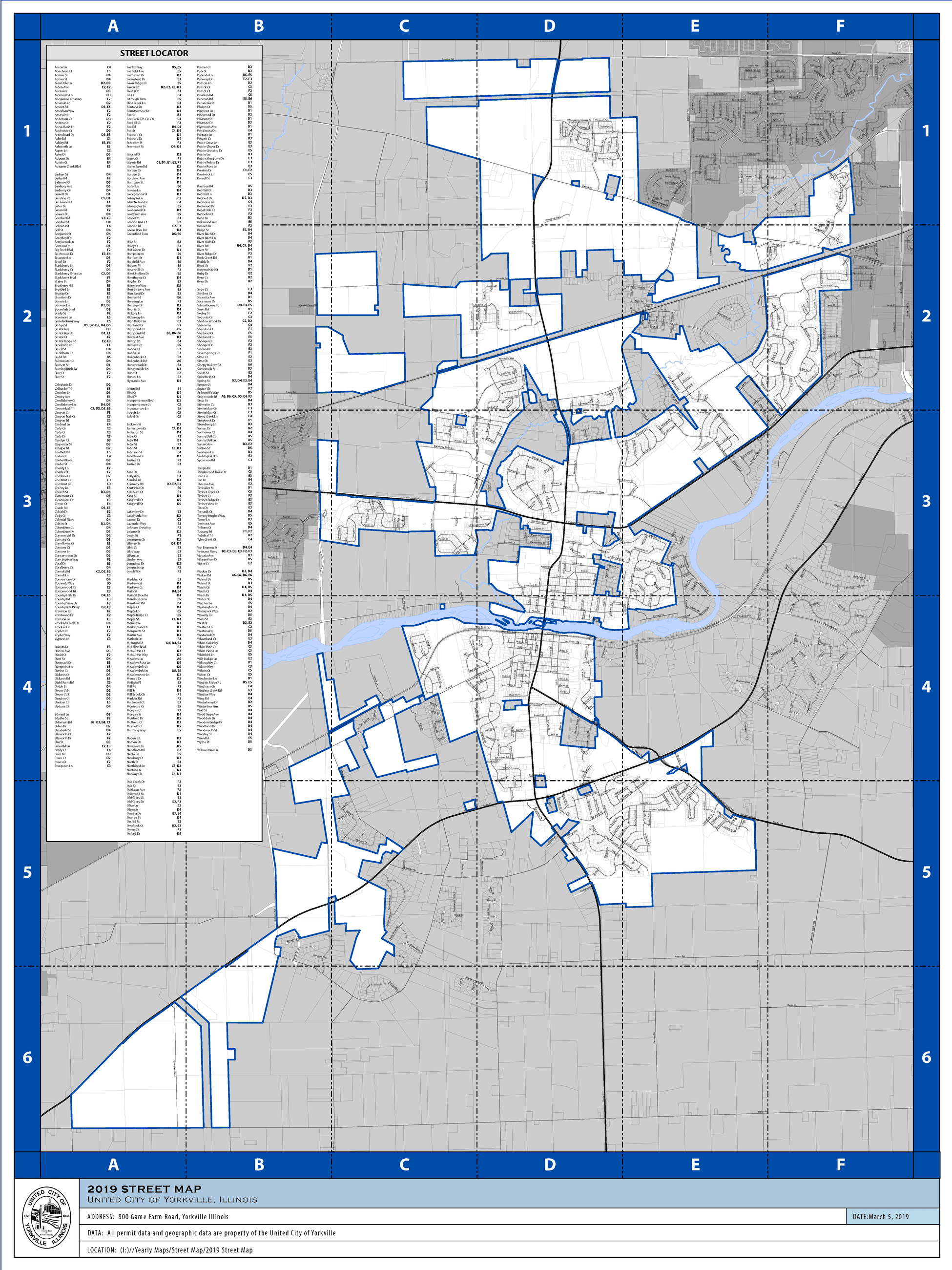 GIS & Mapping | Yorkville, IL - Official Website
