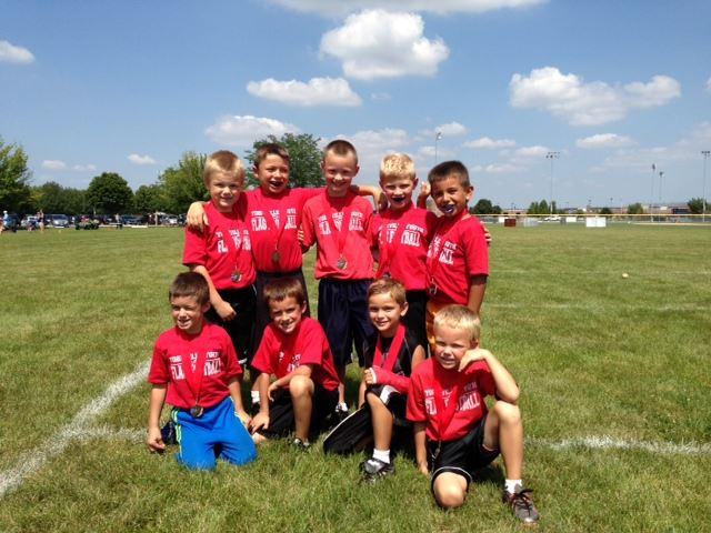 Boys flag football